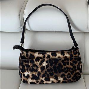 Nine West mini purse in leopard print